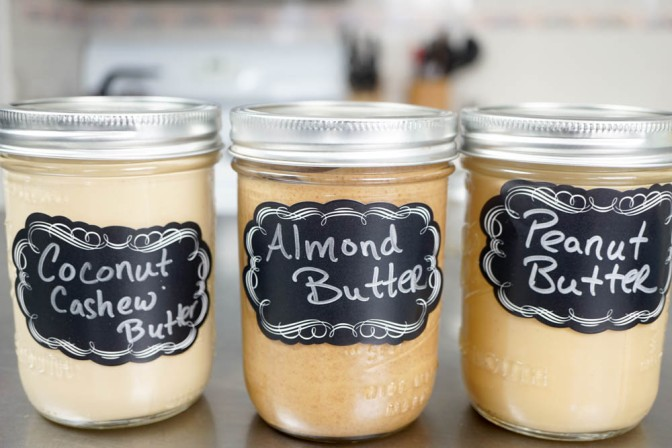 Vitamix homemade nut butters + video