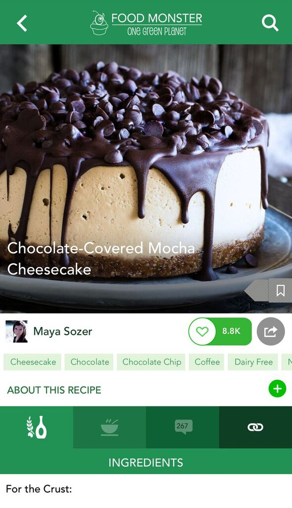 One Green Planet's Recipe Food Monster App Review